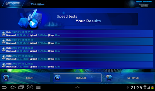 Internet Speed Test - screenshot thumbnail