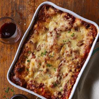 Classic Bolognese Lasagna.