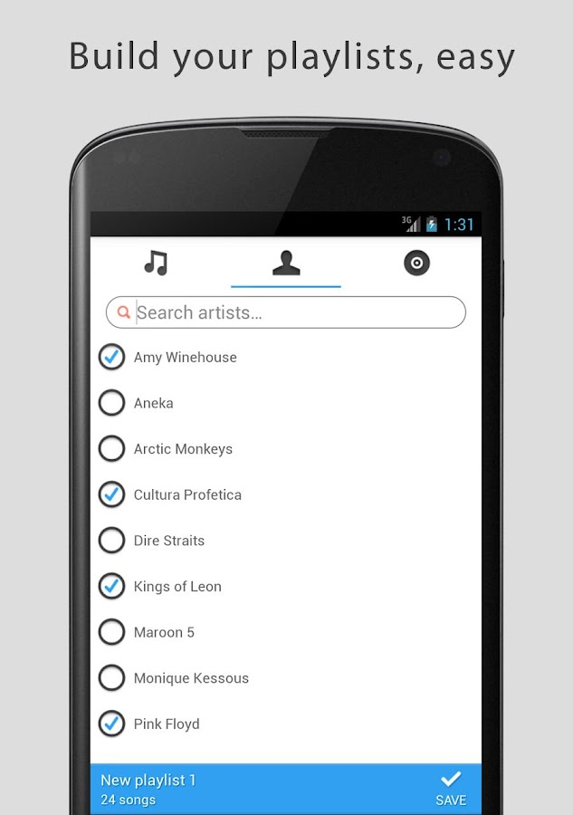 Allest - Music simplified- screenshot