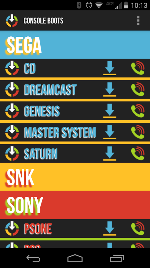 Console Boot Soundboard - screenshot