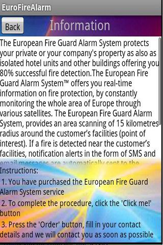 EuroFireAlarm - screenshot
