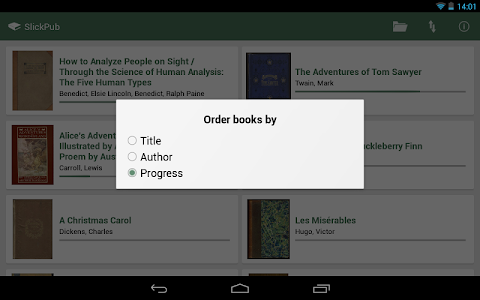 SlickPub - The EPUB Reader v1.2
