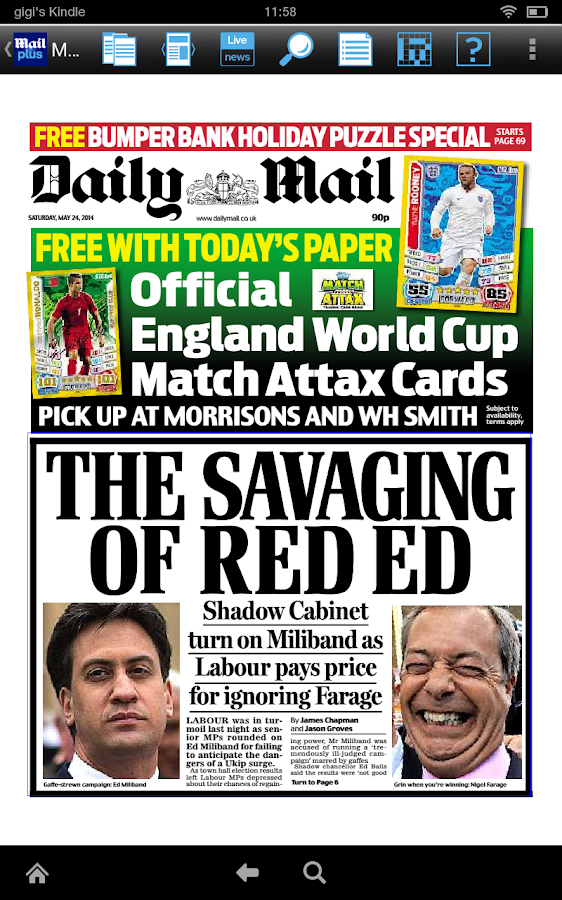 Daily Mail Plus - screenshot