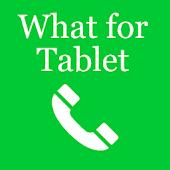 App WhatsAp para Tablet APK for Windows Phone