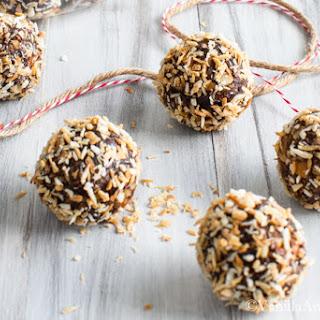 Bourbon Date Nut Truffles