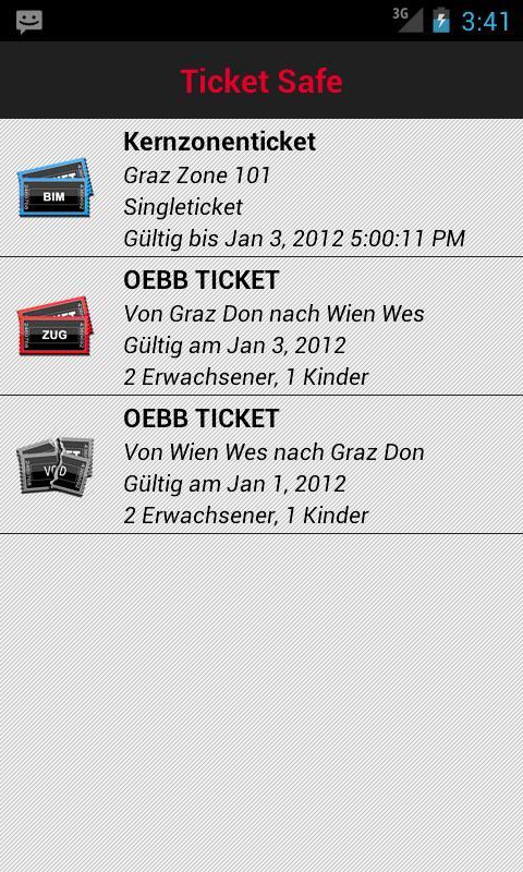 ScotDroid ÖBB Fahrschein Lite - screenshot