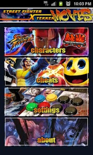 Street Fighter X Tekken Moves - screenshot thumbnail