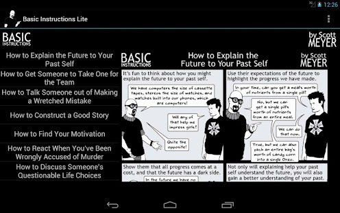 Basic Instructions Lite - screenshot thumbnail