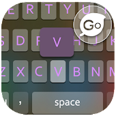 GO Keyboard Black Pink 2014
