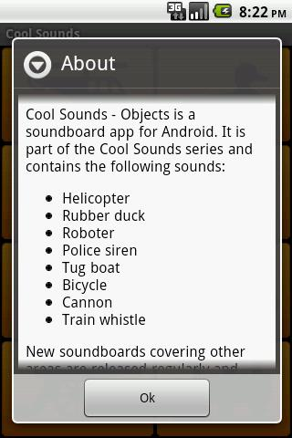 Cool Sounds - Objects - screenshot