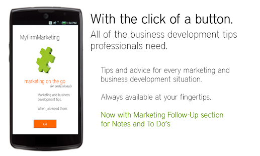 MyFirmMarketing mktg on the go- screenshot thumbnail
