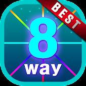 8 Flow Free (8 Way)