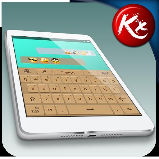 Kx Brown Keyboard LOGO-APP點子