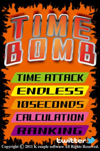 Time Bomb - screenshot