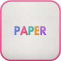 Paper go launcher theme icon