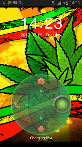 【免費個人化App】GO Locker Theme marijuana Buy-APP點子