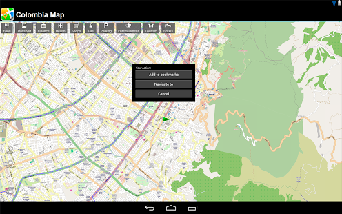 Colombia Offline Map - screenshot thumbnail