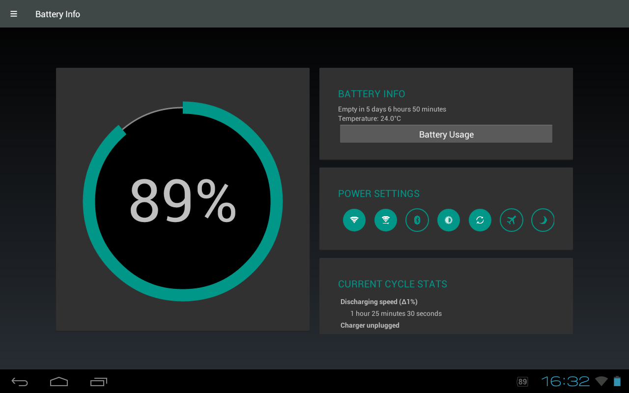 Battery Widget Reborn (BETA) - screenshot