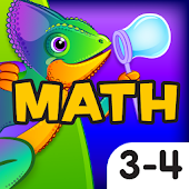 Bubble Pop Math Challenge 3-4