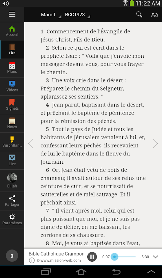 Bibel - screenshot