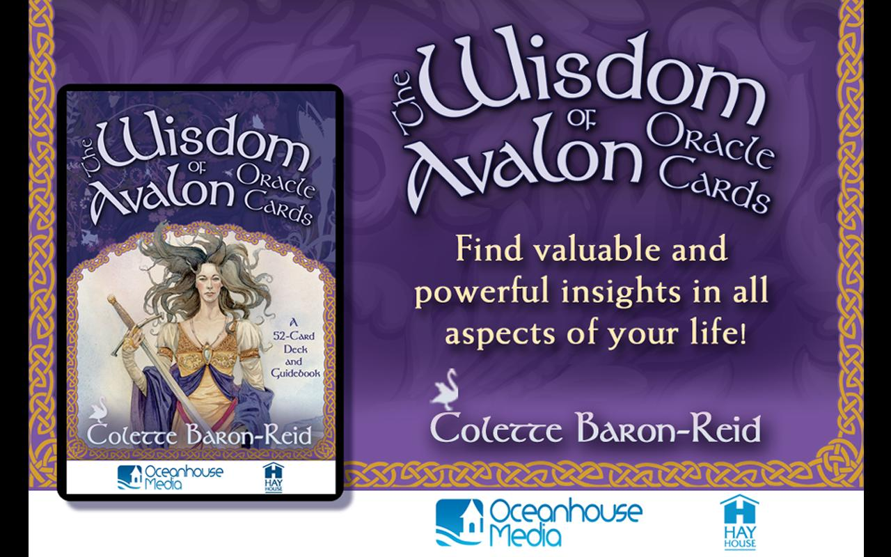 Wisdom of Avalon Oracle Cards- screenshot