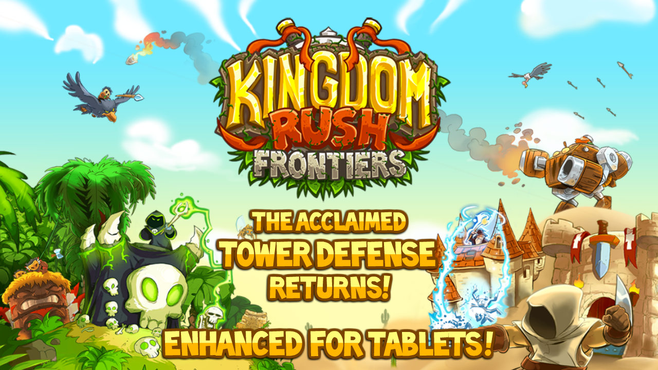 Kingdom Rush Frontiers– skärmdump
