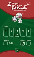 Screenshot of 2 Player Dice HD - Dual Play