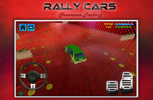 玩賽車遊戲App|拉力賽車陳列室停車3D免費|APP試玩