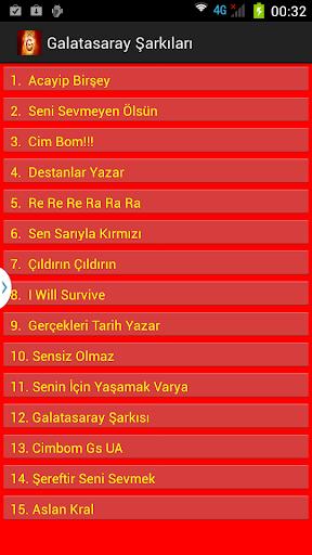 Galatasaray Şarkı ve Marşları