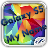 Galaxy S5 My Name Wallpaper