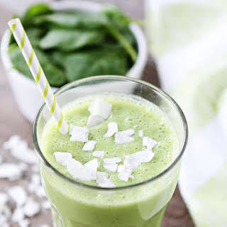 Coconut Green Smoothie.