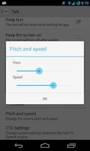 Talk - Text to Voice FREE - screenshot thumbnail