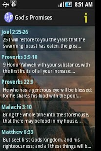 God's Promises in the Bible - screenshot thumbnail