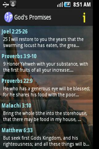 God's Promises in the Bible - screenshot
