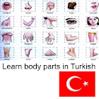 Learn Body Parts in Turkish icon