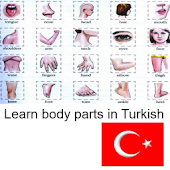 Learn Body Parts in Turkish