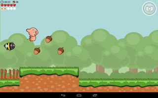 Screenshot of Crisp Bacon: Run Pig Run