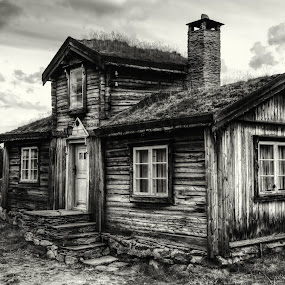 by Dirk Rosin - Black & White Buildings & Architecture ( verdensarv, weltkulturerbe, røros,  )