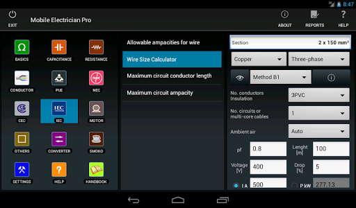 Mobile Electrician Pro v3.1