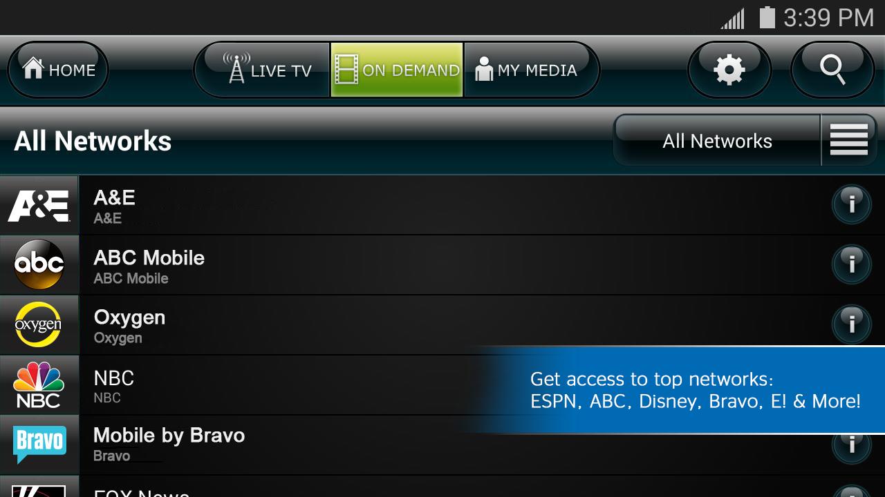 US Cellular Mobile TV - screenshot