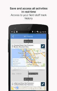 Hellotracks, GPS Phone Tracker- screenshot thumbnail