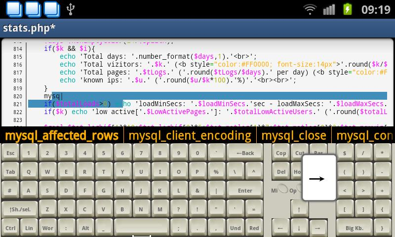 Programmer Keyboard - screenshot