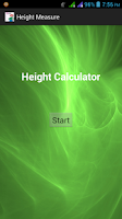 Screenshot of Height Measurement
