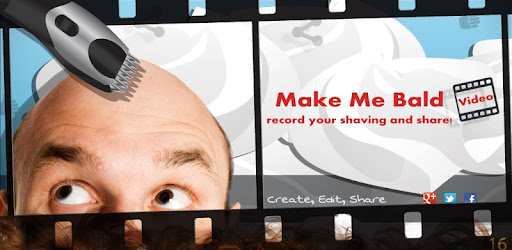 Go bald in a few seconds!
