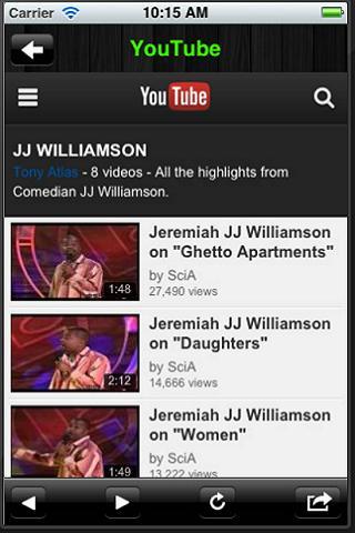 Comedian JJ Williamson