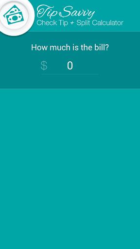 TipSavvy Tip Calculator +Split