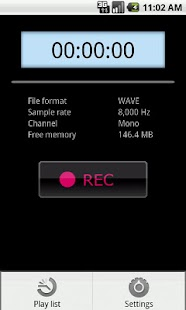 PCM Recorder Lite - screenshot thumbnail