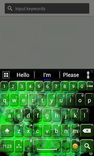 A.I.Type主题绿色א