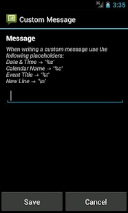 Calendar Messenger Pro- screenshot thumbnail