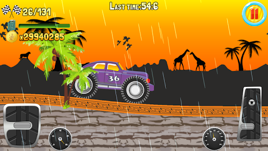 Hill Climb Truck Race screenshot 7